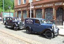 Pre-War Morris Cars at Leyburn 2016
