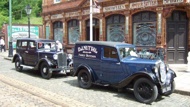 Pre-War Morris Cars at Leyburn 2016